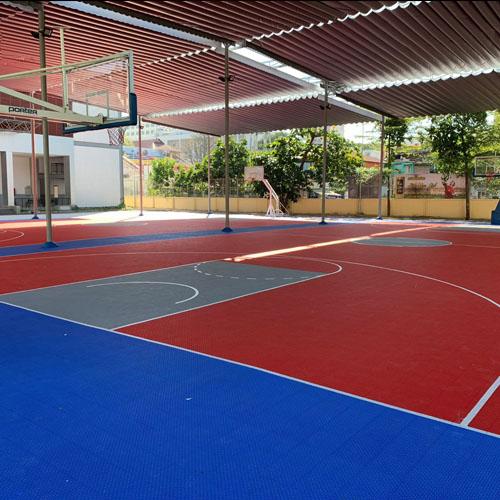 thuê sân bóng rổ tại thể thao phong sơn